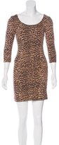 Mara Hoffman Leopard Print Mini Dress