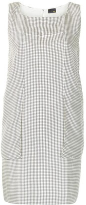 Fendi Pre-Owned Check Print Shift Dress