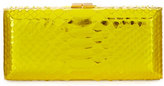 VBH Rectangle Compact 21 Python Clutch Bag