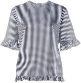 J.W.Anderson checked blouse