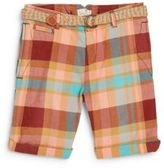 Scotch & Soda Little Girl's & Girl's Plaid Cotton Bermuda Shorts