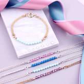 Swarovski J&S Jewellery Charm Bracelet Made With Crystals