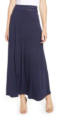 Loveappella Roll Top Maxi Skirt