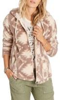 Billabong Over Head Geo Print Fleece Jacket