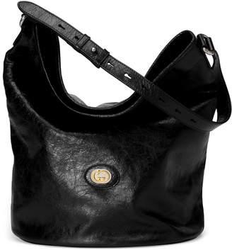 Gucci Leather hobo shoulder bag