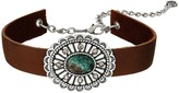 Leather Rock N296 Necklace