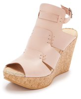 Free People Vachetta Rose Wedges