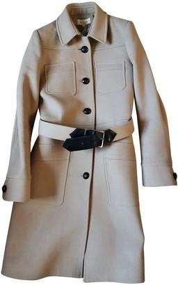Paul & Joe Beige Wool Coat for Women