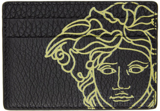 Versace Black Pop Medusa Card Holder