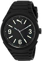 Puma '10359 Gummy' Quartz Black Casual Watch (Model: PU103592014)