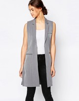 B.young Textured Waist Coat