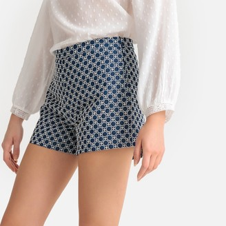La Redoute Collections Printed Jacquard Shorts