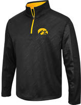 Men's Stadium Iowa Hawkeyes College Embossed Sleet Quarter-Zip Pullover