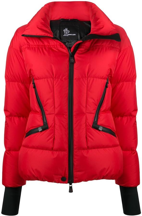 MONCLER GRENOBLE Zipped Puffer Jacket