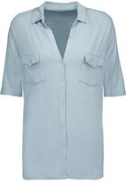 Majestic Washed Stretch-Jersey Shirt