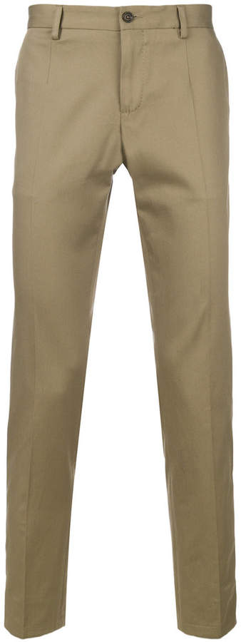 Dolce & Gabbana classic style chino trousers