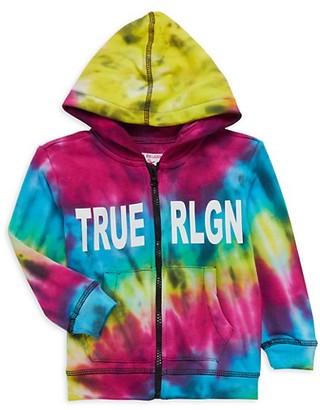 True Religion Little Boy's Graphic Cotton-Blend Hooded Jacket