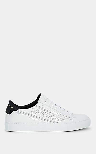 "Givenchy Women's ""Urban Street"" Leather Sneakers - White"