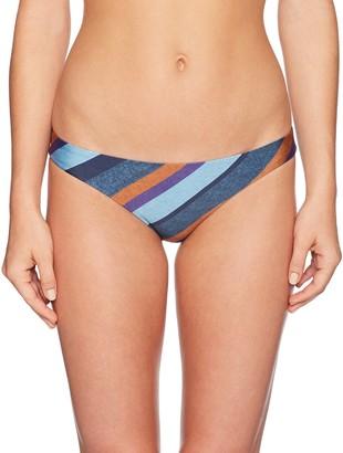 Vix Women's Chambray Basic Banded Full Coverage Bikini Bottom