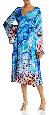 Fe Noel Bacolet Beach Midi Wrap Dress - 100% Exclusive