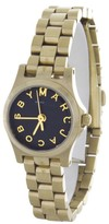 Marc by Marc Jacobs MBM3257 Gold Tone Stainless Steel Quartz 21mm Womens Watch