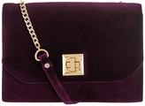 Monsoon Vivian Velvet Clutch Bag