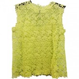 Ermanno Scervino Yellow Lace Top for Women