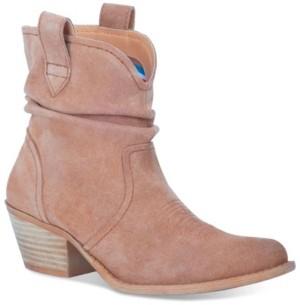 Dingo Women's Jackpot Leather Bootie Women's Shoes