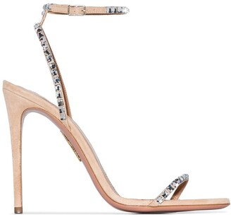 Aquazzura Very Vera 105mm sandals