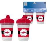 Baby Fanatic Ncaa Arkansas Razorbacks Sippy Cup - 2 Pack