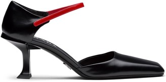 Prada sculpted Mary Jane pumps