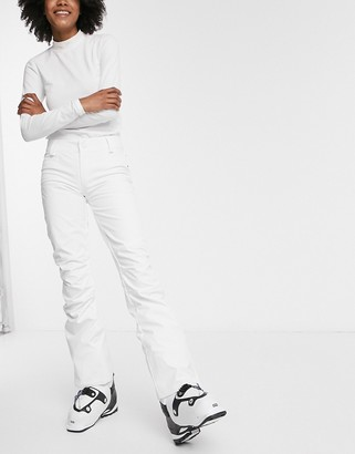 Roxy Creek snow pants in bright white