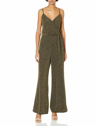 Cupcakes And Cashmere Women's Florence Lurex Knit Jumpsuit