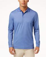 Tasso Elba Men's Supimaandreg; Blend Long-Sleeve Polo, Created for Macy's