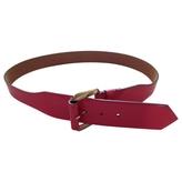 Chloé Pink Patent leather Belt