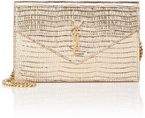 Saint Laurent Women's Monogram Envelope Chain Wallet-GOLD