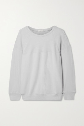 Eberjey Cozy Time Stretch Modal-blend Sweatshirt - Light gray