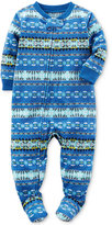 Carter's 1-Pc. Fair Isle Footed Pajamas, Baby Boys (0-24 months)