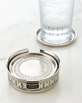 Pewter Coaster Set