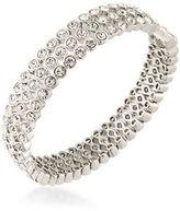 Carolee Silvertone Cuff Bracelet