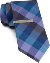 Van Heusen Bold Buffalo Tie and Tie Bar Set - Slim