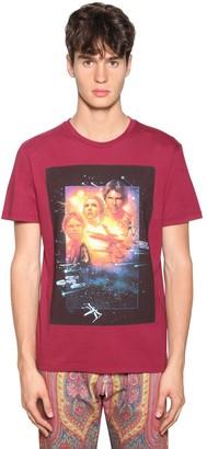 Etro Printed Cotton Jersey T-Shirt