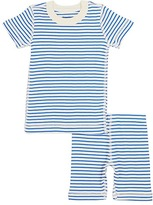 Skylar Luna Striped Organic Cotton Pajama Set