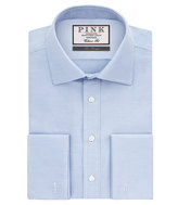 Thomas Pink Joseph Texture Classic Fit Double Cuff Shirt