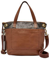 Fossil Keely Small Leather Tote Bag