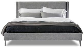 Interlude Izzy King Upholstered Platform Bed Color: Bungalow