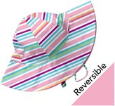 I Play Reversible Brim Sun Hat (Baby/Toddler) - Multicolor-Newborn