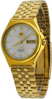 Orient #FEM5M00VW Men's 3 Star Gold Tone Stainless Steel Champagne Dial Automatic Watch
