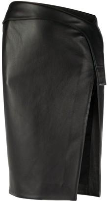 Thierry Mugler Side Slit Skirt