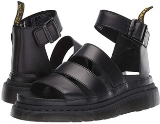 Dr. Martens Clarissa II Shore (Black) Women's Sandals